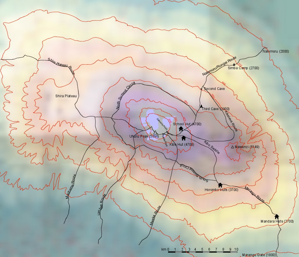 Umbwe – Western Breach Route — Just Kilimanjaro (T) Ltd.